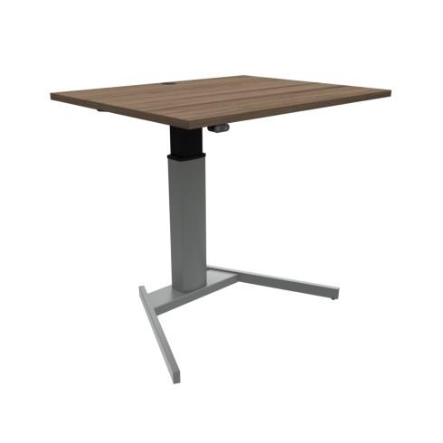 Conset Small2 lille hæve sænkebord med bordplade i valnød