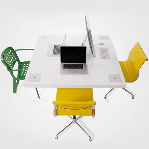 HOLMRIS B8 4Milk kvadratisk bord til 4 personer